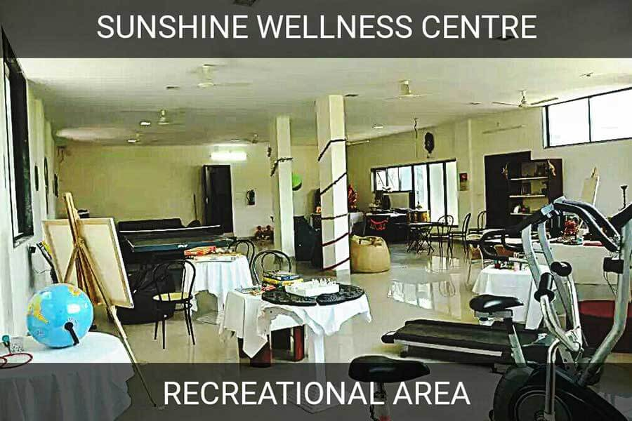 Rehabilitation Centre Recreational Area - Sunshine Wellness Centre